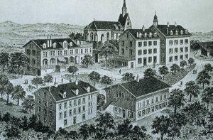 Chrischona Campus um 1900